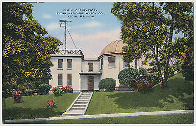 Elgin Observatory, Elgin National Watch, Company, Elgin, Illinois