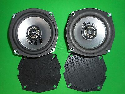 Hogtunes Speakers Front 2 OHM #902.2-AA 06-13 Harley Touring. Take Off Item