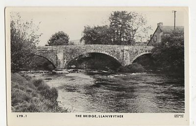 The Bridge, Llanybyther 1965 RP Postcard, B326