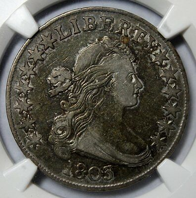 1803 Draped Bust Half Dollar * NGC VF30 * Small 3 * O-104 * Great Early Type