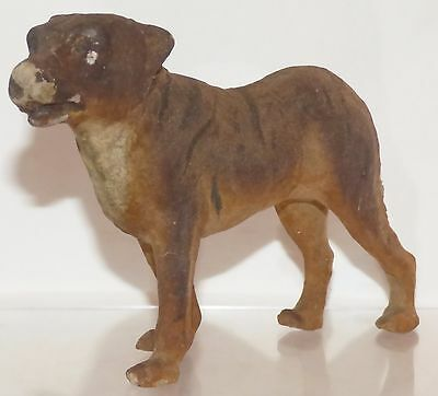 GPM010 - Antique German Thuringia papier mache Jackal 16cm long X 10.9 high