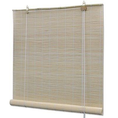 #s Natural Bamboo Roller Blind 150x220 cm Window Blinds Hanging Sunshade Shades