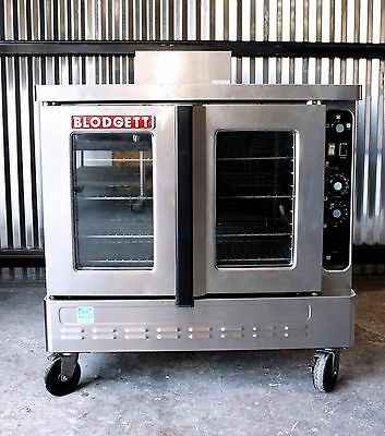 BLODGETT DFG100 GAS DUAL FLO CONVECTION OVEN NICE! Full Size dfg-100