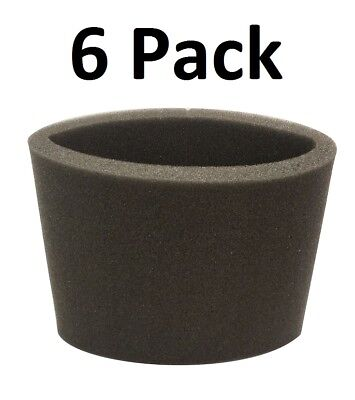 Foam Filter for Shop Vac 90585 Type R 6 FILTERS