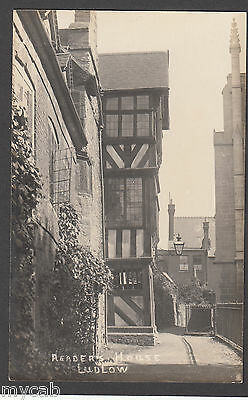 Postcard Ludlow Shropshire early view of Readers House RP