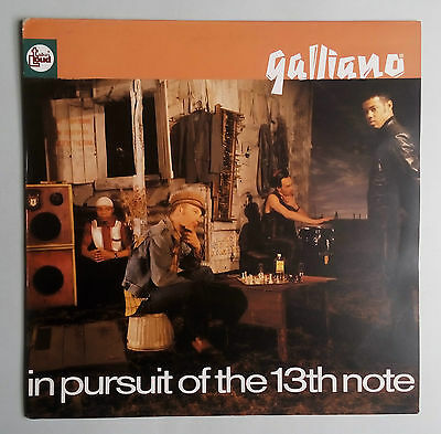 Galliano - In Pursuit Of The 13th Note - Vinyl LP Europe 1991