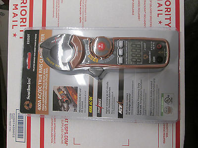 SOUTHWIRE 400 Amp AC/DC True RMS Clamp Meter 21050T NEW