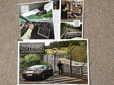 Nissan GT-R - Road test article (French text)
