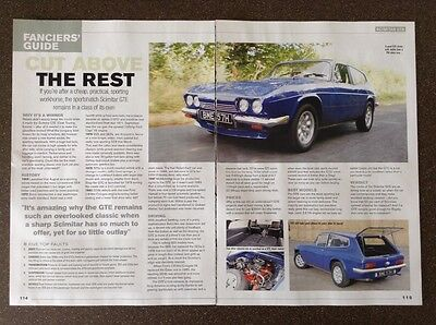 Reliant Scimitar GTE - Classic Buying Guide Article