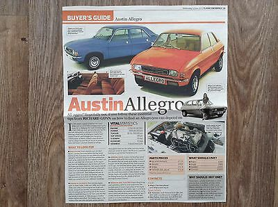 Austin Allegro - Classic Buying Guide Article
