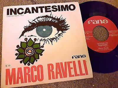 7-Marco Ravelli--Incantesimo-- Beat Pop-Cantastampa 1968 Obscure --Mint