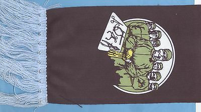Ritchie Blackmore Rainbow Difficult To Cure vintage 1980s concert scarf - YELLOW