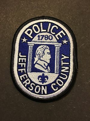 Jefferson  County Kentucky  Sheriff  Shoulder Patch  Used