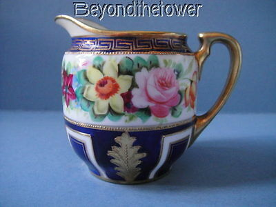 Noritake Hand Painted Milk / Cream Jug C.1920