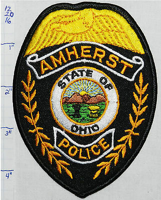 Ohio, Amherst Police Dept Patch