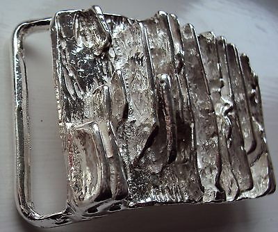 """Solid Sterling Silver Belt Buckle """"The Royale"""""""