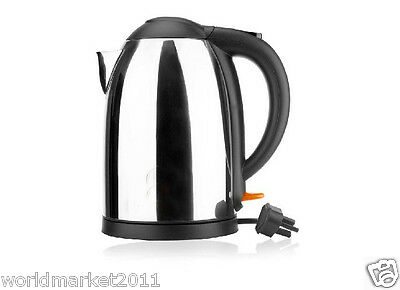 High-Grade Stainless Steel Capacity 1.7L Kitchen Electric Kettle Black
