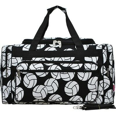 "Volleyball Print NGIL® Carry on Shoulder 23"" Duffle Bag"