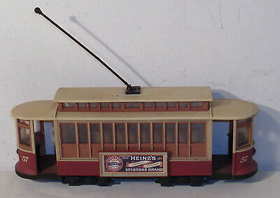 Heniz 57 Plastic Trolley Car Bank Advertising Premium
