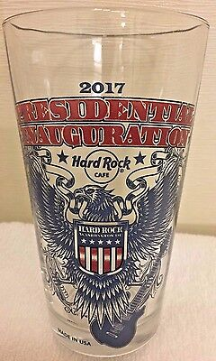 2017 Hard Rock Washington Dc President Elect Trump Inauguration Eagle Pint Glass