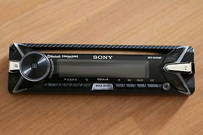 Sony MEX-N5100BT Car Stereo Receiver Faceplate Replacement
