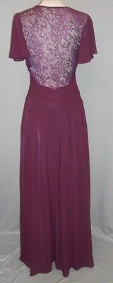 Magic Small Plum Formal Wedding Mother of the Bride Gown Dance Evening Dress