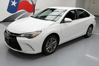 2016 Toyota Camry  2016 TOYOTA CAMRY SE REAR CAM PADDLE SHIFT ALLOYS 9K MI #609932 Texas Direct