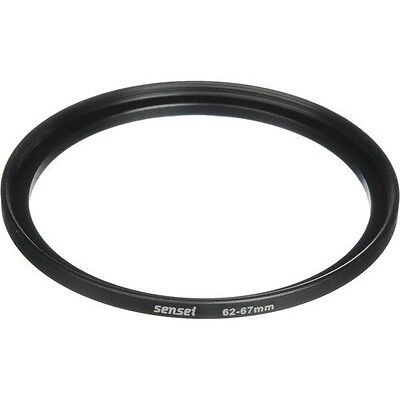 Sensei 62mm Lens to 67mm Filter Step-Up Ring