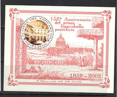 Vatican 2002 Roman States Postage Stamps 150th Anniv.  MNH S/S SC # 1224