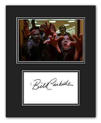 •Sale• Day Of The Dead Bill Cardille (Elevator Zombie) Signed 10x8 Display