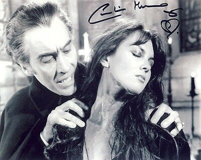 •Sale• Dracula A.D. 1972 Caroline Munro (Laura Bellows) Signed 10x8 Photo