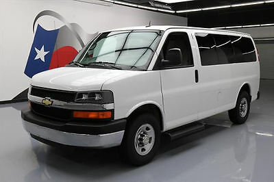 2014 Chevrolet Express  2014 CHEVY EXPRESS LT 2500 VAN POOL 9-PASSENGER 40K MI #194111 Texas Direct Auto