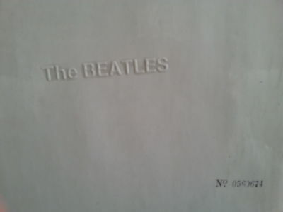The Beatles White Album Dk Top Opening Number Lp ´68 Photos Poster Black Inners
