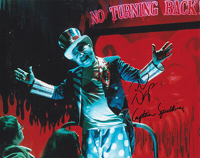•Sale• House of 1000 Corpses Sid Haig (Captain Spaulding) Signed 10x8 Photo