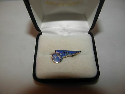 Vintage Pan American Pan Am Airline Pacific Region Wing Lapel Pin Pilot Fa Gift