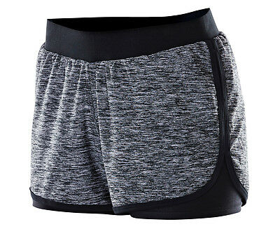 Russell Athletic Women's 2-in-1 Rhythm Workout Short - Warrior Marle