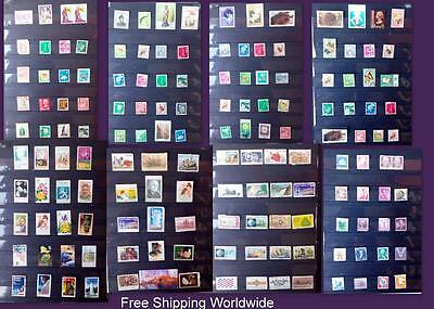 Stamp Collection Japan Malaysia Indonesia Singapore China Nippon Philippines US