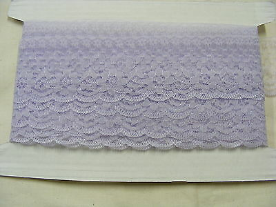 Flat Lace Lilac 60mm wide x 10 mts (2231)