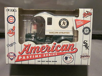 Ertl Die Cast Metal Bank Oakland Athletics Mlb Genune Merchandise 1993 Ford