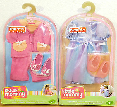 2 Fashion Clothing Sets FAIRY SPORTY SHOES Sweet As Me Little Mommy Doll  NEW