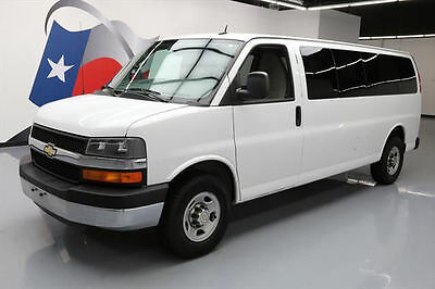 2014 Chevrolet Express LT Standard Passenger Van 3-Door 2014 CHEVY EXPRESS LT 3500 EXT 15-PASSENGER VAN 58K MI #116513 Texas Direct Auto