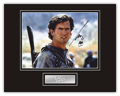 •Sale• The Evil Dead Bruce Campbell (Ash) Signed 14x11 Display