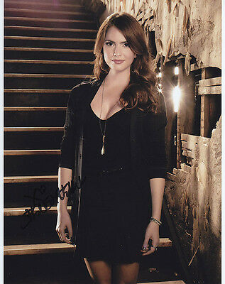 •Sale• The Secret Circle Shelley Hennig (Diana Meade) Signed 10x8 Photo