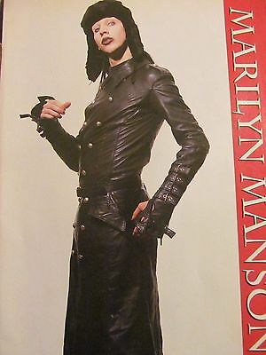 Marilyn Manson, Full Page Pinup