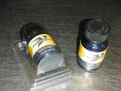 2010-2016 Cadillac SRX Imperial Blue Metallic Code 37 4 oz Touch-up Paint