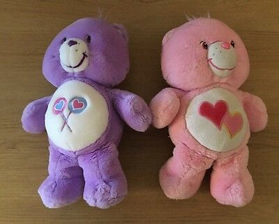 Care Bear Bundle 2003 Share Bear And Love A Lot Bear
