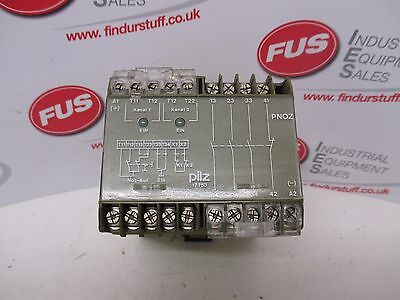 Pilz PNOZ 24VDC 3S 10 Safety Relay - Used Condition