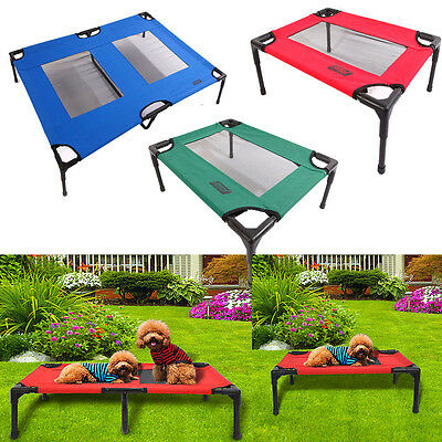 Petcomer Detachable Assembly Dog Pet Cat Elevated Camping Bed