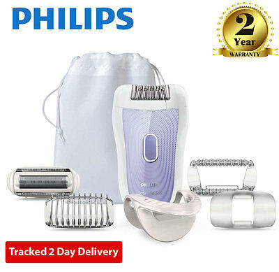 Philips HP6523/03 Satin Soft Ladies Rechargeable Wet & Dry Hair Removal Epilator