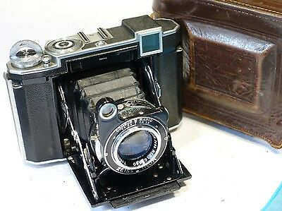 Zeiss Ikon Super Ikonta 532/16, 120 roll film camera with 8cm f2.8 lens